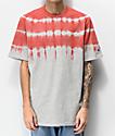 Champion Streak Dye Groovy Papaya camiseta gris