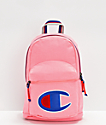 Champion Supercize Pink Bow Heather Mini Backpack