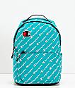 Champion Supercize mini mochila verde azulada