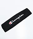 Champion Terry Logo Black Headband