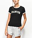 Champion Tiny Black Crop T-Shirt