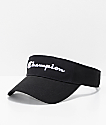 Champion Twill & Mesh Black Visor