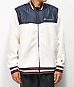 Champion chaqueta de sherpa blanca
