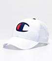 Champion gorra blanca de malla y sarga
