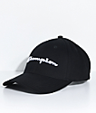 Champion gorra de sarga negro con bordado