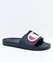 Champion sandalias en azul marino