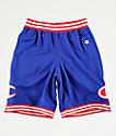 Champion shorts de baloncesto de malla azul