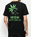 Chinatown Market High Day Black T-Shirt