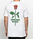 Chinatown Market Rose Chain White T-Shirt