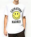 Chinatown Market Smile Logo camiseta blanca