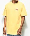 Chocolate Beach Bather camiseta amarilla