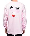Chocolate Dreamers camiseta rosa de manga larga