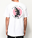 Chomp Death Roll White T-Shirt