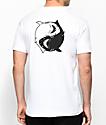 Chomp Fin Fan II White T-Shirt