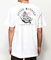 Chomp Never Worried camiseta blanca