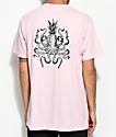 Chomp Octopineapple Pink T-Shirt
