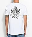 Chomp Octopineapple White T-Shirt