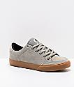 Circa Lopez 50 Flint Grey & Gum Skate Shoes