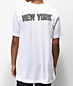 City Chapters New York Checkered camiseta blanca
