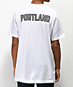 City Chapters Portland Checkered White T-Shirt