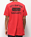 City Chapters Portland Rose camiseta roja