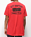 City Chapters Seattle Rose camiseta roja