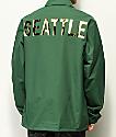 City Chapters Seattle chaqueta entrenador verde