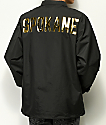 City Chapters Spokane Black Coaches Jacket