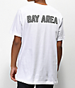 City Chapters The Bay Area Checkered camiseta blanca
