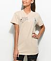 Civil Anti Romantic camiseta en color caqui
