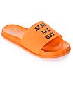 Civil Slay All Day Orange Slide Sandals