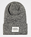 Coal Uniform Marbled Black Beanie