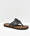 Cobian Aloha sandalias negras