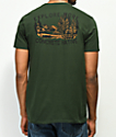 Concrete Native Explore Woods camiseta verde
