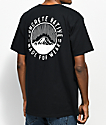 Concrete Native Mountains Black T-Shirt