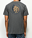 Concrete Native Tipi camiseta gris