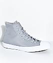 Converse CTAS Cordura Hi Wolf Grey & White Shoes