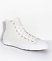 Converse CTAS Pro Hi Egret & Dusty Pink Skate Shoes