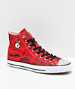 Converse CTAS Pro Hi Sean Pablo Red Skate Shoes