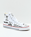 Converse CTAS Pro Hi Sean Pablo White Skate Shoes