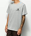 Converse Chevron Star Heather Grey T-Shirt