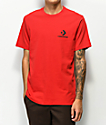 Converse Chevron Star Red T-Shirt