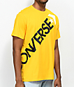 Converse Cross Body University camiseta dorada
