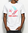 Converse Heat Map Star Chevron White T-Shirt