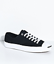 Converse Jack Purcell Pro Black & White Shoes