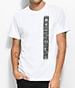 Converse Lenticular Wordmark camiseta blanca