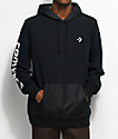 Converse Mixed Media Pullover Hoodie
