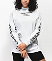 Converse Stencil Pale Blue Mock Neck Long Sleeve T-Shirt