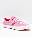 Converse x Hello Kitty One Star zapatos de skate rosas y blancos