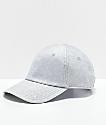 Converse x Miley Cyrus Silver Glitter Strapback Hat